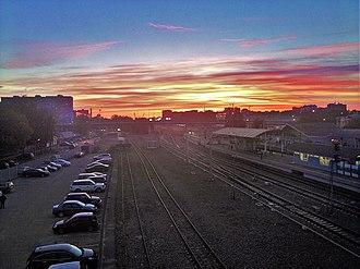 Bolshevo - Image: Bolshevo station in Koroljov city