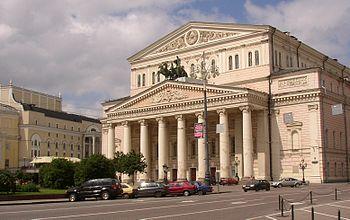 Teatro Bolshoy en Moscú, Rusia