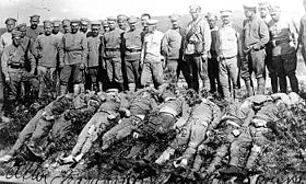 Bolcheviks massacrés par les légions tchèques à Vladivostok.