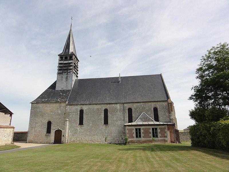 Boncourt (Aisne) église