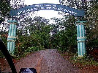 Bondla Wildlife Sanctuary - Entrance to the Sanctuary