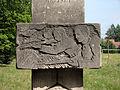 Bondyrz - Muzeum Historyczne Światowego Związku Żołnierzy Armii Krajowej Inspektoratu Zamojskiego - pomnik poległych w II WŚ pracowników fabryki (04) - DSC04041 v1.jpg