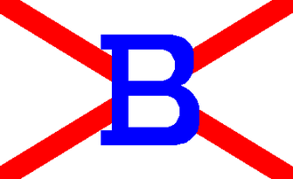 Alfred Booth and Company - House flag of the Booth Steamship Co