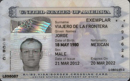 Border Crossing Card Wikiwand