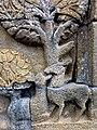 Borobudur - Divyavadana - 109 E, Maitrakanyaka meets with eight Nymphs (detail 1) (11705400944).jpg