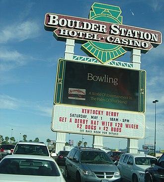 Boulder Station - Boulder Station sign in 2010