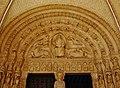 Bourges Cathédrale Saint-Étienne Südportal Tympanon 1.jpg