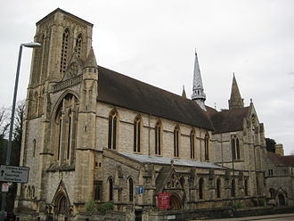 St Stephen's Church, Bournemouth, built in 1898 Bournemouth St Stephen's church.jpg