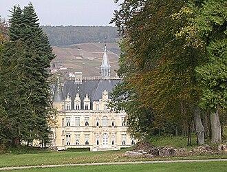 Anne de Rochechouart de Mortemart - Image: Boursault Chateau