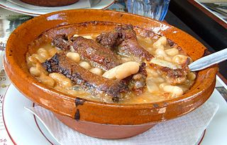 Bowl of cassoulet