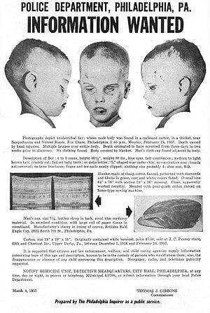 Boy in the Box (Philadelphia) - 1957 poster