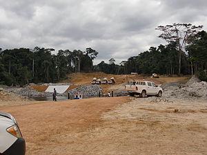 Oyala - Bridge on the scheduled presidential residence (2010)