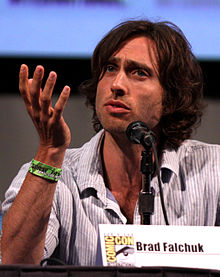 Falchuk at the San Diego Comic-Con International in July 2011.