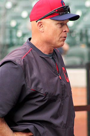 Brad Mills (manager) - Mills with the Cleveland Indians