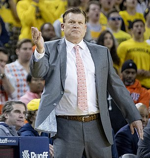 Brad Underwood American basketball coach