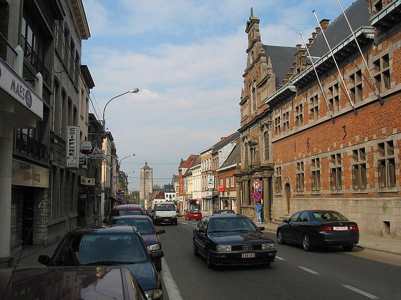 Braine-le-Comte (Belgium),  the Dominican order convent (XVIIth century).