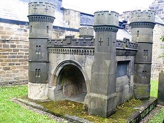 All Saints' Church, Otley - Navvies' Memorial