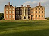 South façade of Bramshill House, a Jacobean mansion in Hampshire, England