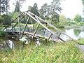 Bridge at Marshal's Lake - geograph.org.uk - 796935.jpg