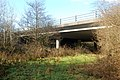 Bridge carrying A30 road over a brook near Broadwoodwidger - geograph.org.uk - 1701131.jpg
