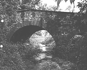 Bridge in Williams Township - Bridge in Williams Township, 1982