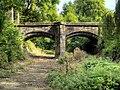 Bridge over moat, Clayton Hall.jpg