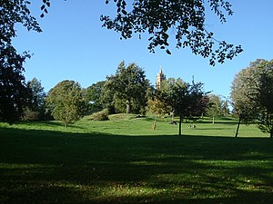 Parks of Bristol - Brandon Hill and Cabot Tower.