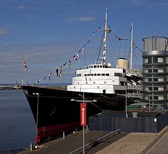 HMY Britannia - Image: Britannia (4532545688)