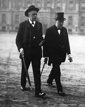 British-Prime-Minister-Arthur-Balfour-with-Winston-Churchill