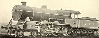 L&YR Class 8 class of 75 British four-cylinder 4-6-0 locomotives
