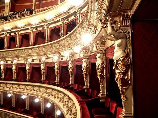 Brno, Mahenovo divadlo, hlediště (1)