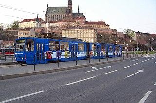 Trams in Brno