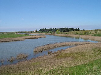 Holme Dunes - Broadwater, a freshwater lake