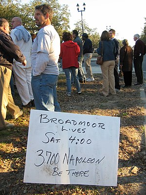 Broadmoor, New Orleans - Broadmoor Lives! Post Katrina rally