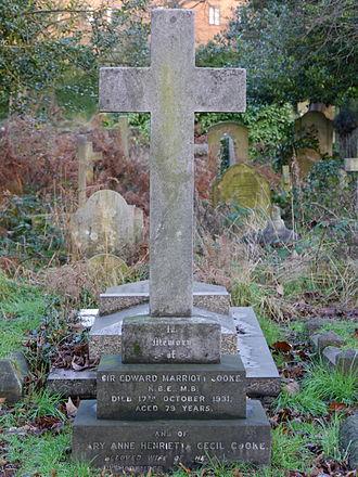 Marriott Cooke - Funerary monument, Brompton Cemetery, London