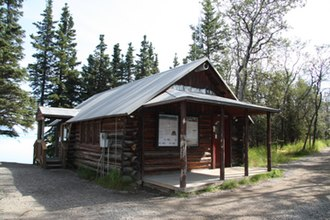 National Register of Historic Places listings in Lake and Peninsula Borough, Alaska - Image: Brooks River Ranger Station