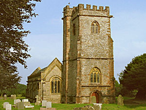 Church of St Mary & All Saints, Broomfield - Image: Broomfield church
