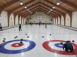 Broomstones Curling Club, Wayland MA