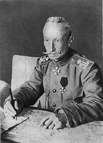 Brusilov Offensive - Russian general Aleksei Brusilov, 1916