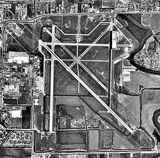 Brownsville/South Padre Island International Airport - USGS 2002 orthophoto