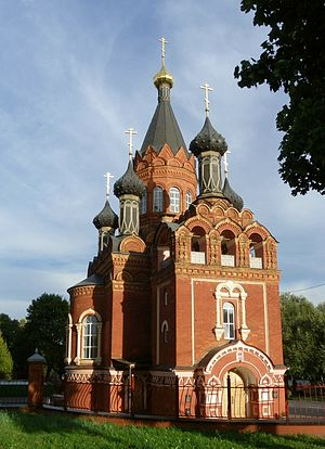 Bryansk Oblast - The Spaso-Grobovskaya built in 1904