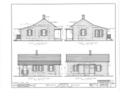 Bryant House, 116 Wilson Street, Bement, Piatt County, IL HABS ILL,74-BEM,1- (sheet 2 of 2).png