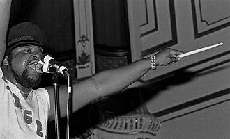 Buddy Miles - Miles performing in Hamburg, Germany, 1972