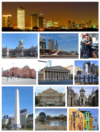 Buenos Aires - Image: Buenos Aires City Collage