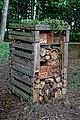Bug hotel at Easton Lodge Gardens, Little Easton, Essex, England.jpg