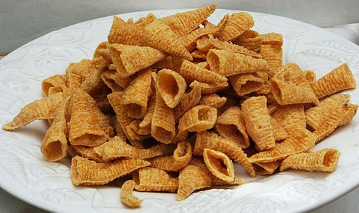 Bugles brand snack food