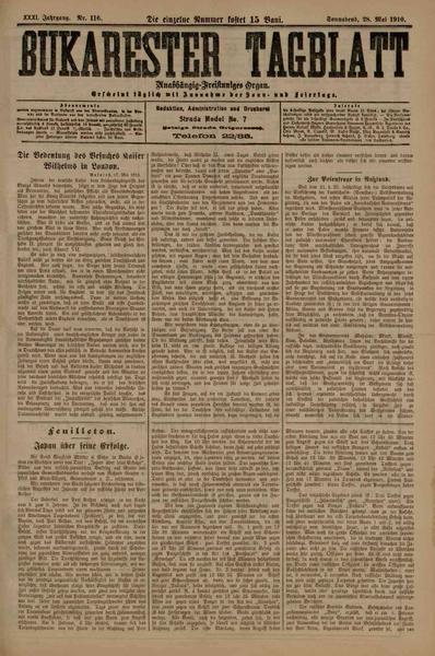 File:Bukarester Tagblatt 1910-05-28, nr. 116.pdf