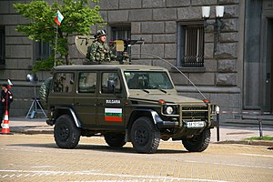 68th Special Forces Brigade (Bulgaria) - Image: Bulgarian army Mercedes G Class