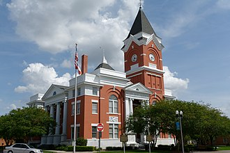 Bulloch County Courthouse - Bulloch County Courthouse in 2017