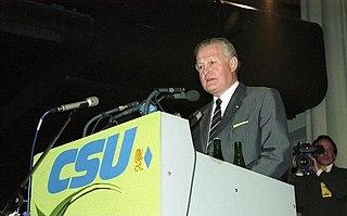 Max Streibl German politician